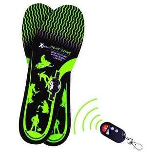 Flambeau inc f246-m hot feet heated insoles kit w/remote, m