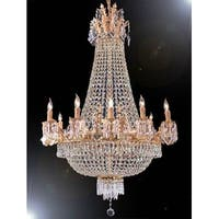 Swarovski Crystal Trimmed Empire Chandelier