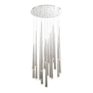 """Modern Forms PD-41721R Cascade 21 Light 26"""" Wide Integrated LED Chandelier"""