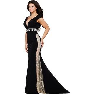 Jovani Embellished Prom Formal Dress