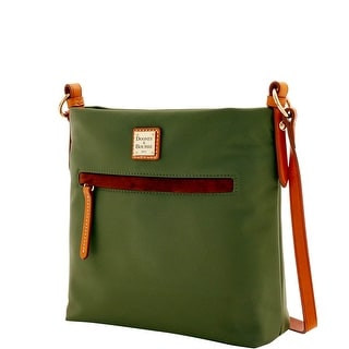 Dooney & Bourke Windham Daisy Letter Carrier (Introduced by Dooney & Bourke at $138 in Jul 2016) - Olive