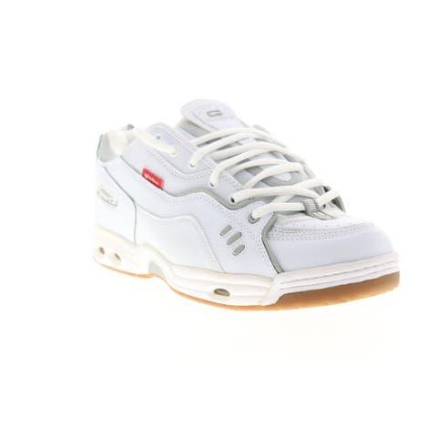 Globe CT IV Classic White Gum Mens Athletic Skate Shoes