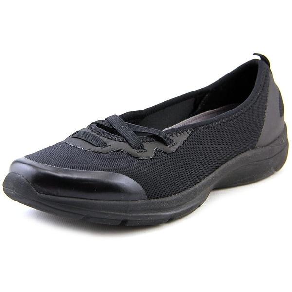 Easy Spirit e360 Quiet One Women Blk Walking Shoes