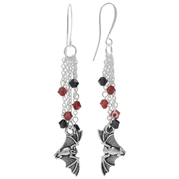 Halloween Earrings - Flying Bat - Exclusive Beadaholique Jewelry Kit