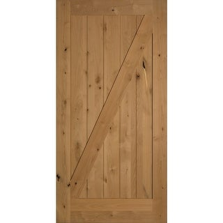 "Trimlite 40701388401Z  48"" by 84"" Z-Brace Interior Barn Door Only"