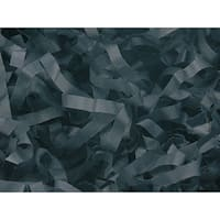 Pack Of 1, Solid Pack Of 1, Solid Black Tissue Paper Shred 1 Lb To Dress Up Packaging & Baskets