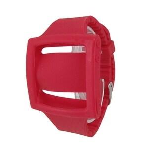 Silicone Nonslip Band Wrist Phone Case Red for iPod Nano 6