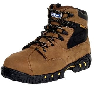 Michelin Work Boots Mens Steel Toe Internal Met Guard Brown XPX763|https://ak1.ostkcdn.com/images/products/is/images/direct/bed8dca0be9a7c66ae6142f0b7100f76ee638f81/Michelin-Work-Boots-Mens-Steel-Toe-Internal-Met-Guard-Brown-XPX763.jpg?impolicy=medium