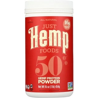 Just Hemp Foods Hemp Protein Powder, 1 Lb