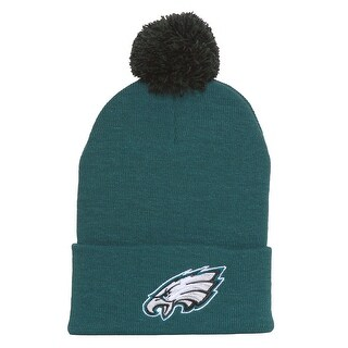 Philadelphia Eagles Beanie with Pom - Green - Philadelphia Eagles