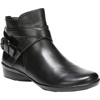 Naturalizer Women's Cassandra Bootie Black Leather