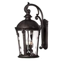 """Hinkley Lighting 1899-LED 25.75"""" Height LED Outdoor Lantern Wall Sconce from the Windsor Collection - n/a"""