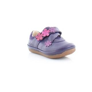Clarks Elza Step FST Toddler Girls Flats Purple