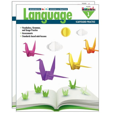 (2 Ea) Mini Lessons & Practice Lang Gr 1 Meaningful