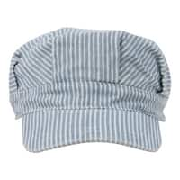 Conductor's Cap-Light Blue Stripe, Youth