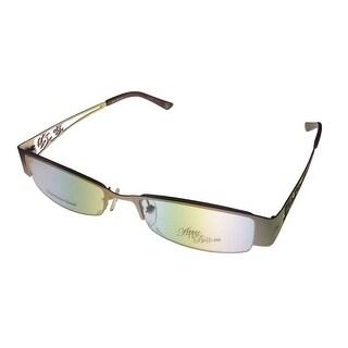 Apple Bottoms Womens Opthalmic Eyeglass Bottom Rimless Metal 701 3 Matt Gold - Medium