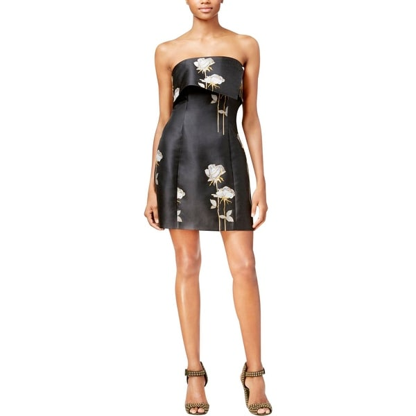 Shop Rachel Rachel Roy Womens Cocktail Dress Printed Strapless - Free  Shipping On Orders Over  45 - Overstock - 18544335 91c8ea952c26