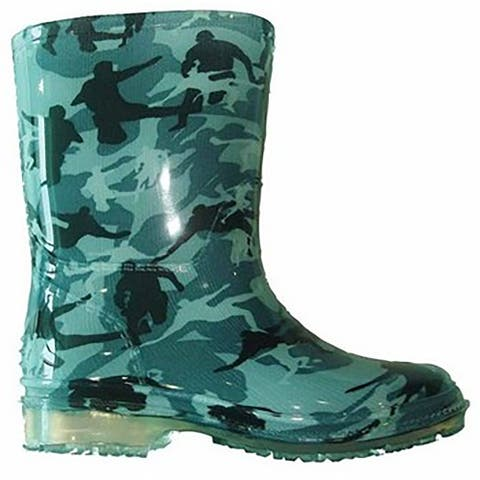 Cotswold Pvc Childrens/Kids Toddler Wellington / Boys Boots - Camouflage