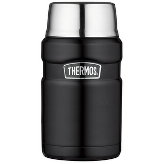 Thermos Stainless King 24 Ounce Food Jar (Matte Black)