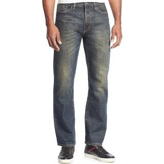 Sean John Hamilton Classic Relaxed Fit Deep Tinted Wash Jeans 30 Waist