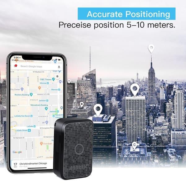 Shop Agptek Mini Real Time Audio Gps Tracker For Kids And Elderly