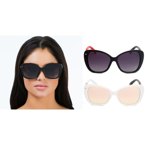 f250141bfed PRIVÉ REVAUX ICON Collection The Jackie O. Handcrafted Designer Polarized  Cat-Eye Sunglasses