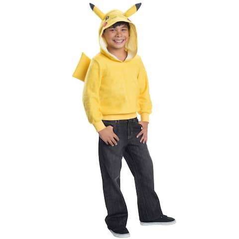 Rubies Pikachu Hoodie Child Costume - Yellow