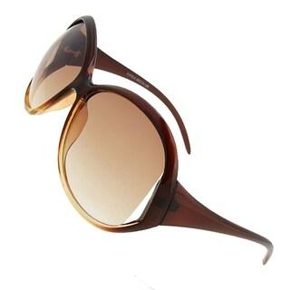 Ladies Fashion Amber Lens Summer Sport Sunglasses