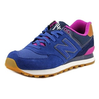 New Balance WL574 Women Suede Fashion Sneakers
