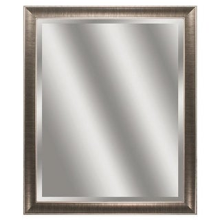 Propac Images 9942 Beveled Mirror - Gunmetal Gray Frame