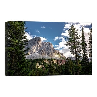 "PTM Images 9-124855  PTM Canvas Collection 8"" x 10"" - ""Mountain Majesty"" Giclee Forests and Mountains Art Print on Canvas"