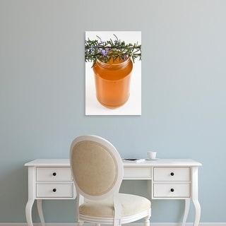 Easy Art Prints Nico Tondini's 'Rosemary Honey In Jar' Premium Canvas Art