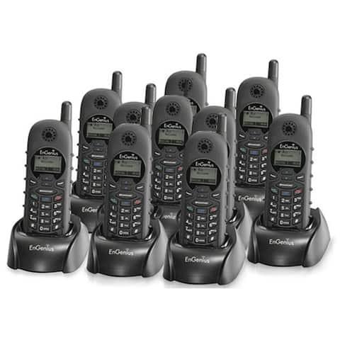 Engenius DuraFon 1X-HC (10 Pack) Long Range Cordless Phone Handset