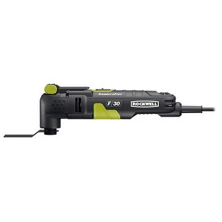 Rockwell RK5132K Sonicrafter F30 Oscillating Tool Kit with Hyper Lock, 3.5 Amp