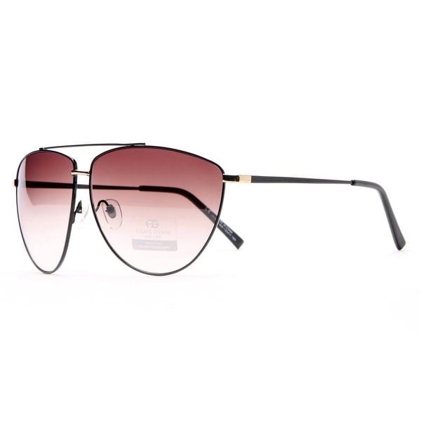 e264d370e4 Anais Gvani Ultra Thin Classic Unisex Frame Sunglasses with Oblong Lenses  by Dasein