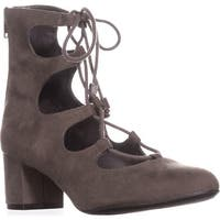 B35 Percy Lace-Up Sandals, Grey