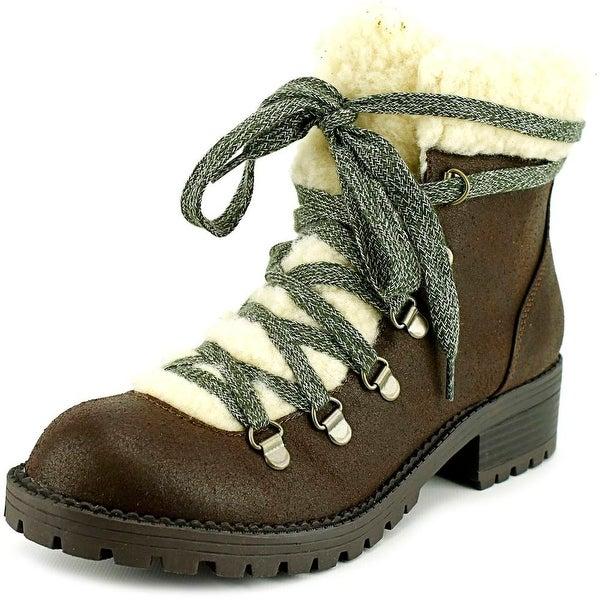 Madden Girl Bunt Women Brown Multi Boots