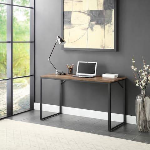 "BELLEZE 47"" Barton Industrial Computer Desk Available in 8 Options - Medium"