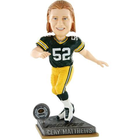 Green Bay Packers Clay Matthews #52 2015 Springy Bobblehead - Multi