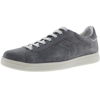 Geox Respira Mens Warrens Suede Low Top Fashion Sneakers