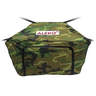 "ALEKO Waterproof Front Bow  Storage Bag for 12.5' Boat 30"" x 19"" Camouflage"