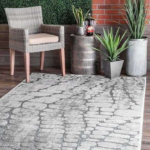 Havenside Home Sentani Stoneway Indoor/Outdoor Area Rug