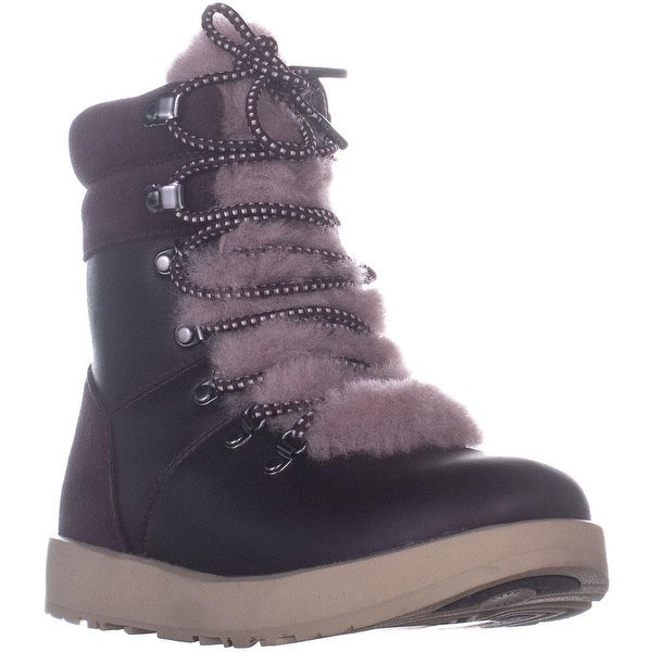 f6807c5cc72 Shop UGG Viki Waterproof High Top Ankle Boots, Port - Free Shipping ...