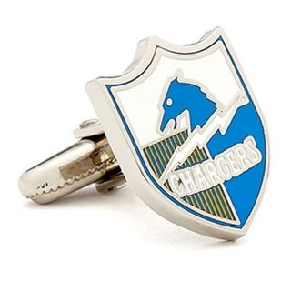 Silver Plated Vintage San Diego Chargers Cufflinks