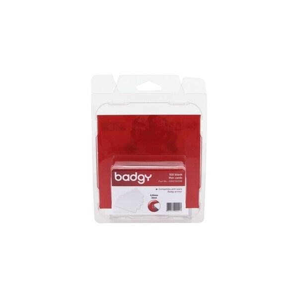 Evolis CBGC0020W Evolis Badgy Thin PVC Plastic Cards - Compatible with all Badgy printers