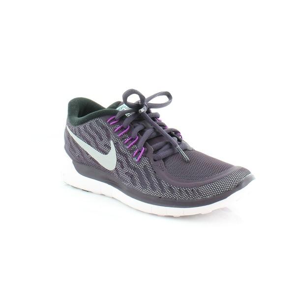 Nike Free 5.0 Flash Women's Athletic Nbl Purple/Rflct Slvr