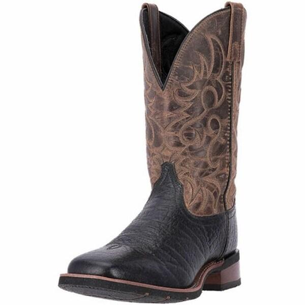"Laredo Western Boots Mens 11"" Topeka Orthotic Stockman Black"