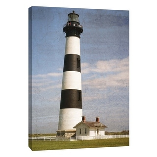 "PTM Images 9-105975  PTM Canvas Collection 10"" x 8"" - ""Bodie Lighthouse"" Giclee Lighthouses Art Print on Canvas"
