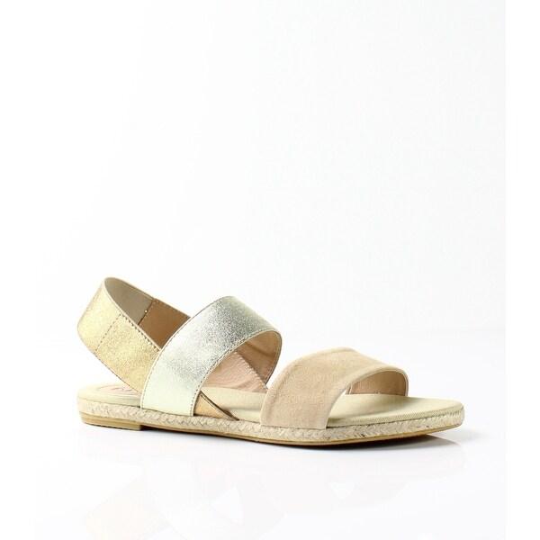 Vidorreta NEW Beige Women's Shoes Size 7.5M Leo Suede Sandal