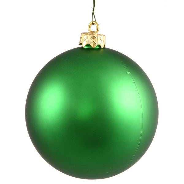 "2.75"" Green Matte Ball UV Shatterproof"